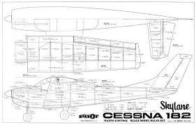 free rc plans cessna 182 skylane plans aerofred download free model airplane