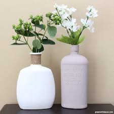 Challenge Vase An Easy Way To Diy Faux Concrete Vases Green With Decor