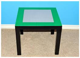 Legos Table Frugal Life Project Diy Make Your Own Lego Table