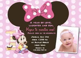 minnie mouse first birthday invitation template u2013 orderecigsjuice info
