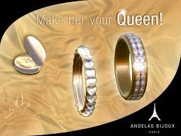 Wedding Gift Gold Second Life Marketplace Angelas Bijoux Gold Wedding Rings