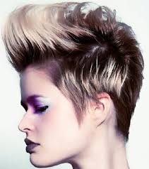 chunky short haircuts short hair with chunky highlights hairstyle ideas in 2018