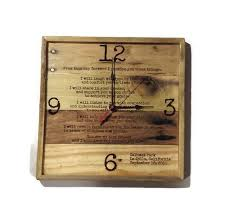 personalized anniversary clocks 41 best handmade wall clocks melted glass bottles images on