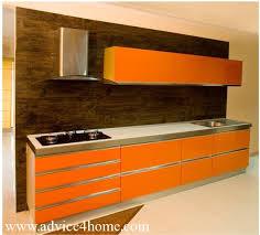 orange kitchen design modular kitchen designs advice for home