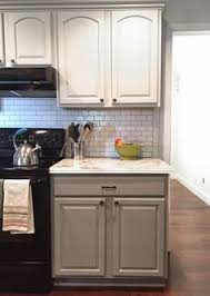 Paint Ideas For Kitchens I Actually Really Love These Cabinets The Color Is Modern But