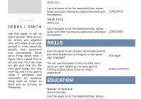 Free Online Resume Template Microsoft Word Free Online Resume Template Microsoft Word Fred Resumes