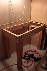 Open Vanity Bathroom Open Shelf Bathroom Vanity Plans Best Bathroom Decoration