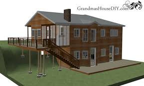 Walk Out Basement House Plans Free House Plan Two Story Stunner With A Walk Out Basement