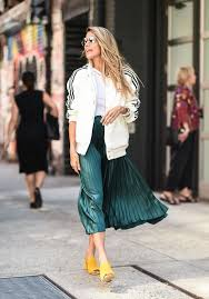 pleated skirts micro pleated skirts become the must item for fall