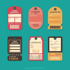 travel tags images Set of flat vintage travel tags vector free download jpg