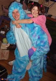 sully costume boo and sully from monsters inc couples costume