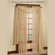 How To Hang A Drapery Scarf by Elegance Sheer Window Treatments
