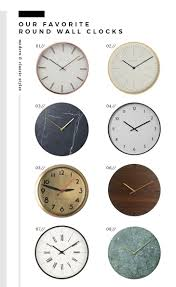 time for new time wall clock roundup room for tuesday blog