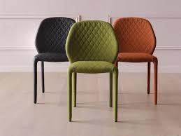sedie pelle sedia imbottita in pelle dumbo by miniforms design zaven