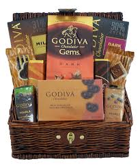 christmas gift baskets family godiva chocolates gourmet gift basket