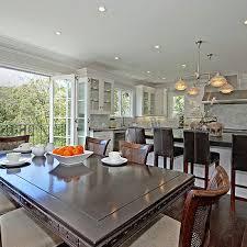 open plan dining room design ideas