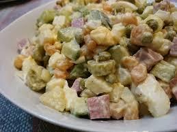 olivier cuisine salad recipe olivier salad s food