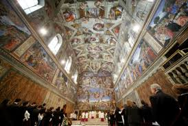 15 lofty facts about the sistine chapel mental floss original image