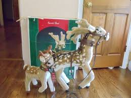 Animated Christmas Deer Decorations by 61 Best Christmas Decorations I Want Images On Pinterest
