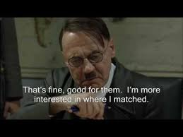 Usmle Meme - hitler finds out his match results youtube