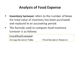 average cost of food chapter 9 analyzing results using the income statement ppt video