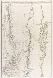 Colonial America 1776 Map by Revolution Era Map Of The Lake Champlain Hudson River Corridor