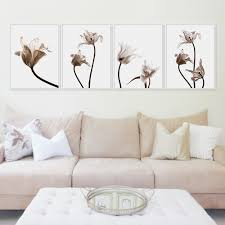 aliexpress com buy modern tulips flower photo a4 poster color