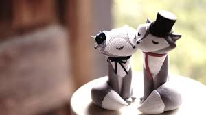 unique wedding toppers wolf wedding cake topper unique wedding cake topper
