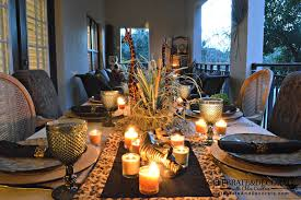 how to style and throw a lush thanksgiving glitter inc outdoor
