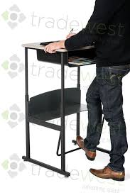 Standing And Sitting Desk Desk Swing Bar Adjustable Height Sit Stand Height