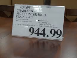 Dining Room Sets Costco Charleston 9 Piece Counter Height Dining Set