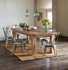 dining room white round dining room table mission style