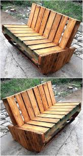 Patio Furniture Made Out Of Wood Pallets - 183 best pallet benches images on pinterest pallet projects