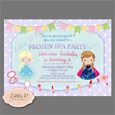 6 spa party invitations designs templates free u0026 premium
