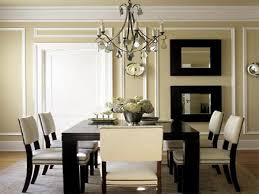 traditional contemporary living room dining room wall with