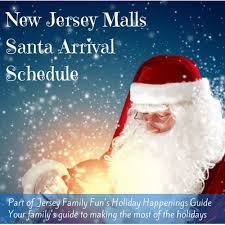 new jersey malls santa schedule events jersey family