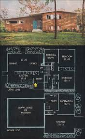 Floor Plans Split Level Homes 37 Best Exterior Split Level Images On Pinterest Exterior