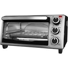 Toaster Oven Spacemaker Black Decker 4 Slice Toaster Oven Stainless Steel To1303sb
