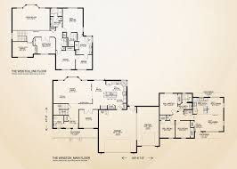 customizable floor plans the winston home plan multi generational home built on your lot