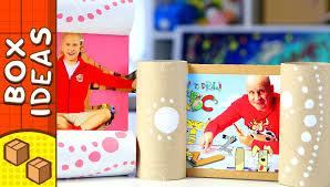 diy picture frame craft ideas for kids on boxyourself youtube