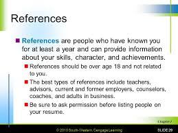 who should your resume references be 100 images cover letter