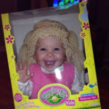 Homemade Cabbage Patch Kid Halloween Costume Baby Beavers Lion Witch Wardrobe Costumes