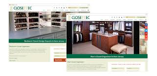 closettec closettec case study in responsive wordpress website design development seo
