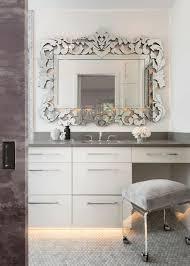 salle de bain luxe miroir salle de bain qui reflète votre style et personnalité ideeco