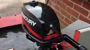 mercury 5mh 2 stroke short shaft outboard motor youtube