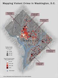 Washington Heights Map by Violent Crime In Washington D C Visual Ly