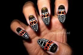 african inspired nail art nail art ideas