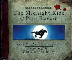 paul revere s ride book ride of paul revere timeline
