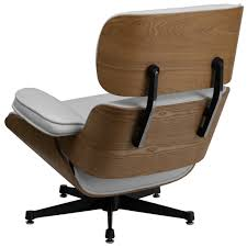 Gaming Chair Ottoman by Modern White Beechwood Console Gaming Chair U2013 Gamers Seat