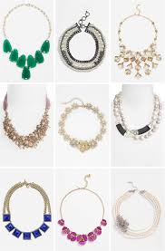wedding statement necklaces